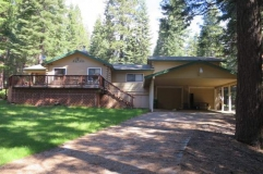 *PRICED REDUCED!* Beautiful park like setting…1238 Sunset Trail Lake Almanor Country Club